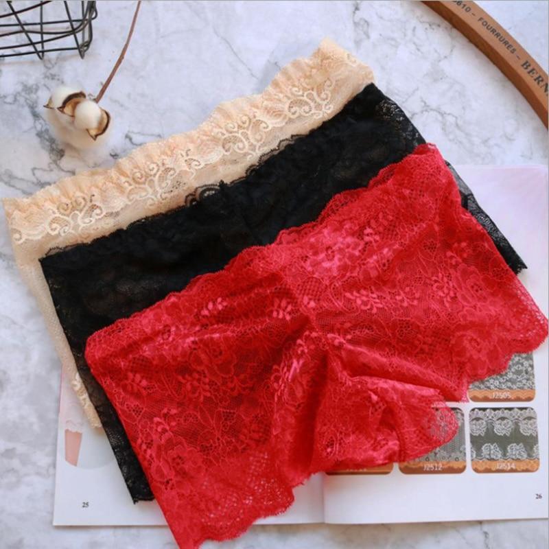 Fashion Sexy Panties Women Lace Lingerie Underwear Open Crotch Bowknot Briefs Underwear Crotchless Underpants