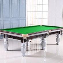 Table de billard de Style américain, parc d'attractions Commercial de 9 pieds, Snooker, jeux de société, fête en Club, piscine en marbre