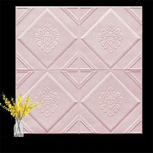 70x70 см 3D панели для плитки, настенный камень, настенный художественный декор, 3D Наклейка на стену, обои для гостиной, настенная роспись, украш...