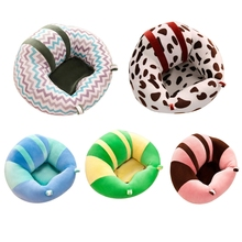 Baby Kids Support Seat Soft Plush Sit Up Cushion Learning To Sit Toy Sofa Chair DXAD
