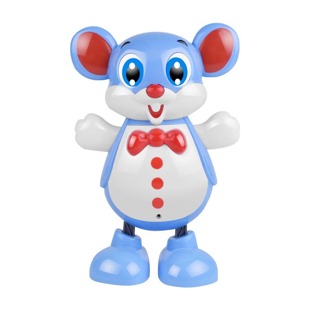 Electronic Cartoon Mouse Robot Doll Develop Children Curiosity Creativity Kids Children Sing Dance Light Toys Gifts