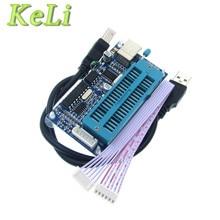 1pcs 1 סט PIC K150 ICSP מתכנת USB אוטומטי תכנות מיקרו + USB ICSP כבל 3237
