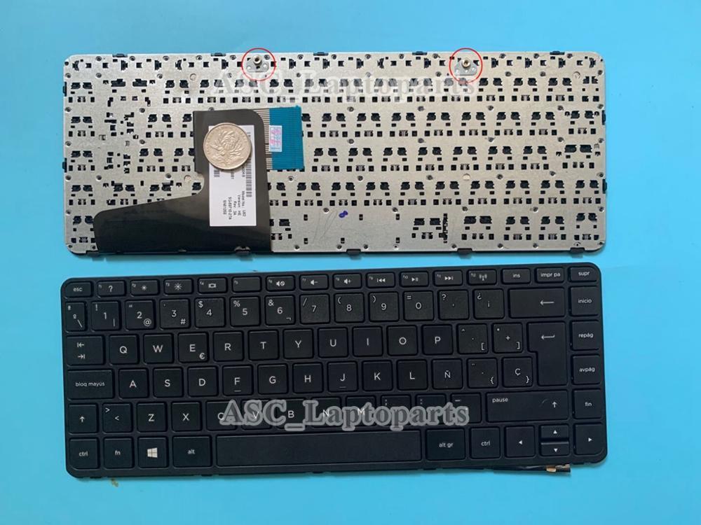 New Spanish Teclado Keyboard For Hp Pavilion 14 N207la 14 N209la 14 N220la 14 N229la Laptop Black Frame Black Win8 Keyboard For Hp Laptop Keyboard Laptop Fujitsulaptop Computer Keyboard Aliexpress