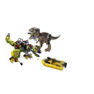 Image 2 - New Jurassic Park World Dinosaur Dinosaurs Spinosaurus Assault Figure Building Block  With 73934 75935 75937 75938