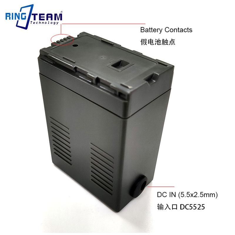 VW-VBG6 VBG6 Battery DC Coupler for Panasonic NV-GS90 GS98 PV-GS90 GS320 GS500 SDR-H48 H50 H68 H80 H90 H258 VDR-D50 D58 Cameras