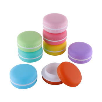 1Pcs 5g/10g Candy Color Empty Cream Jar Cute Cosmetic Containers Lipstick lip Balm Box DIY Sub-Bottling Cream Jar For Cosmetic