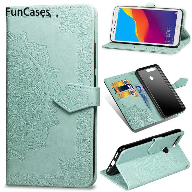 Case For Huawei Honor 7A 7C Pro 6A 8S Honor 8A 10 9 Lite P Smart Leather Flip Case For Huawei P20 P10 P8 Lite 2017 Y5 Prime 2018