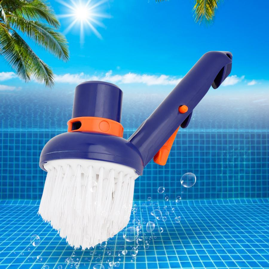 Swimming Pool Step Corner Vacuum Brush Spas Hot Tubs Cleaning Brushes Nylon Bristles Cleaning Brush Tools