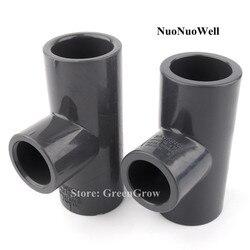 ANSI 26.67 ~ 48.26mm do 21.34 ~ 33.4mm wysokiej jakości UPVC teownik redukcyjny złącze ogród wody złącza do rur rura przemysłowa stawów