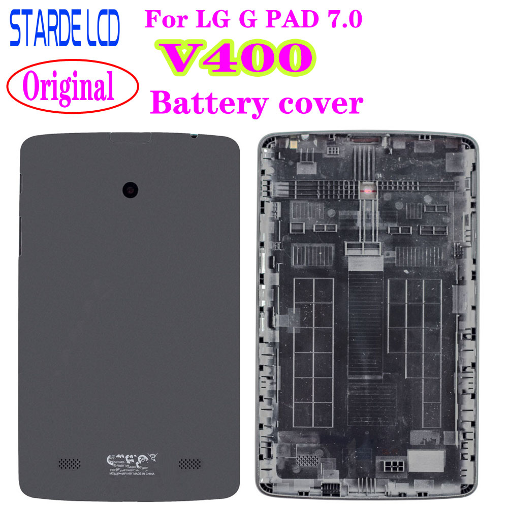 Original Cover For LG G Pad 7.0 V400 Battery Cover Tablet Replacement Back Case Shell
