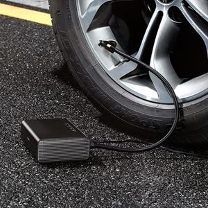 Image 2 - Baseus 지능형 자동차 공기 압축기 타이어 풍선 펌프 12V 휴대용 자동차 타이어 팽창기 자동차 타이어