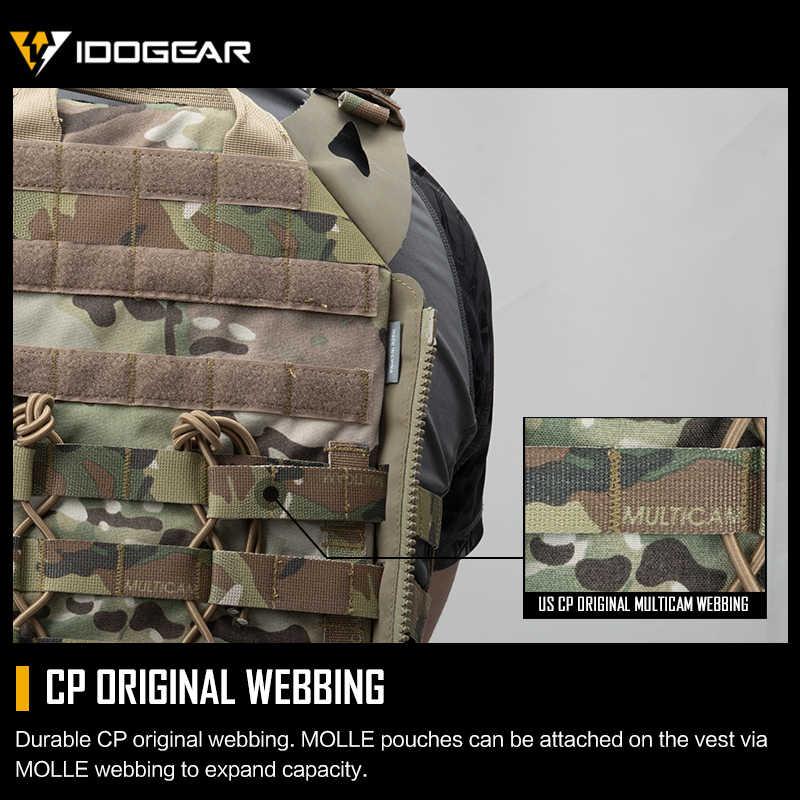 Idogear Tattico Jpc 2 Giubbotto Armatura Ponticello Portante Del Piatto Jpc 2.0 Esercito Militare Molle Caccia Paintball Portante Del Piatto 3312