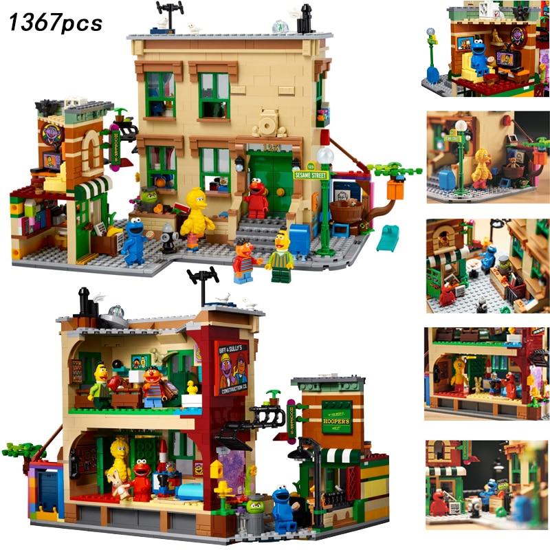 Только светодиодный городской уличный конструктор, кирпичи, идеи, игрушки для детей, подарок для мальчиков