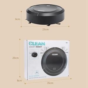 Image 4 - Robot aspirador de barrido automático, inalámbrico, con carga USB, para el hogar, Robots limpiadores de vacío, Alfombra de vacío inteligente