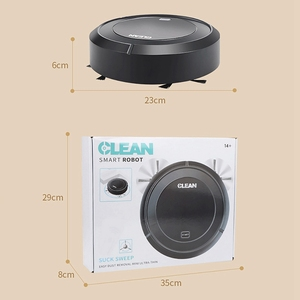 Image 4 - אוטומטי גורף רובוט שואב אבק USB טעינה ביתי אלחוטי אלחוטי Vacum רובוטים אינטליגנטי ואקום שטיח