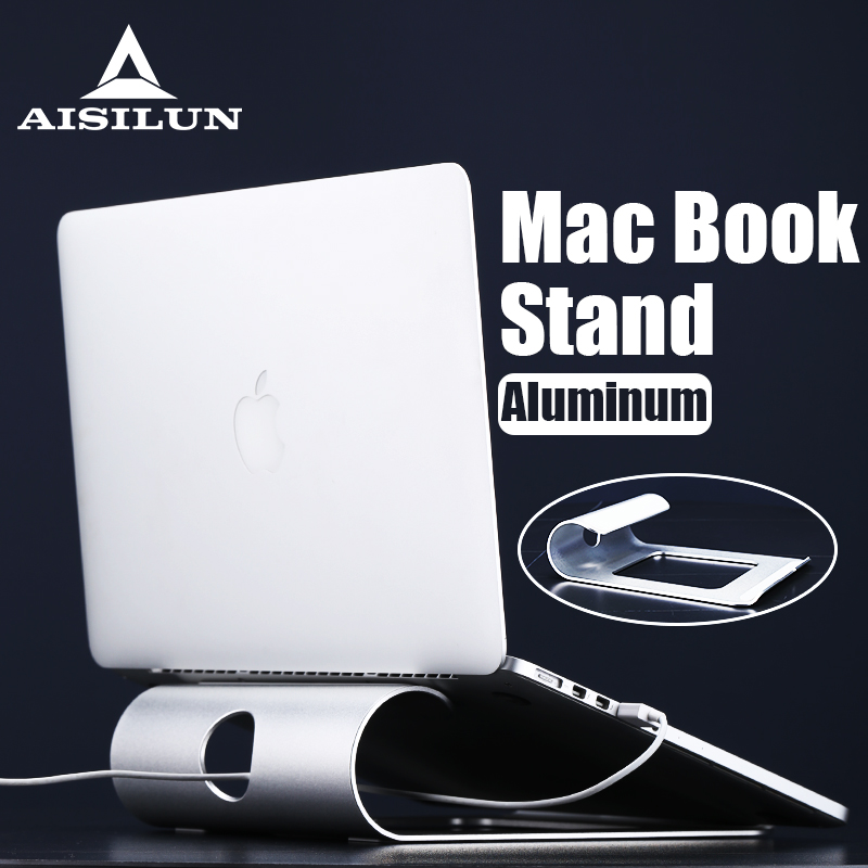 Laptop Stand Aluminum Tablet Holder For Macbook Air Pro Retina 11 12 13 15 Inch Notebook Cooling Mount Accessories Cradle Base