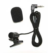Collar Microphones Phone Microphone 3.5 mm Jack Hands-free Lapel Mini Wired MIC(China)