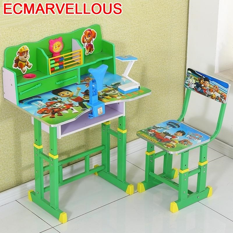 Tavolo Toddler And Chair Tavolino Bambini Cocuk Masasi Mesa De Estudio Child Adjustable Bureau Kinder Enfant Kids Study Table