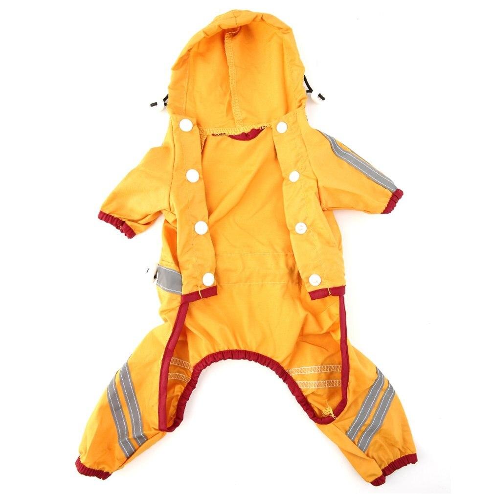 Hing Quality Pet Dog Puppy Cat Glisten Bar Hoody Casual  Waterproof Rain Raincoat Jacket Clothes XL Pet Product Dropshipping