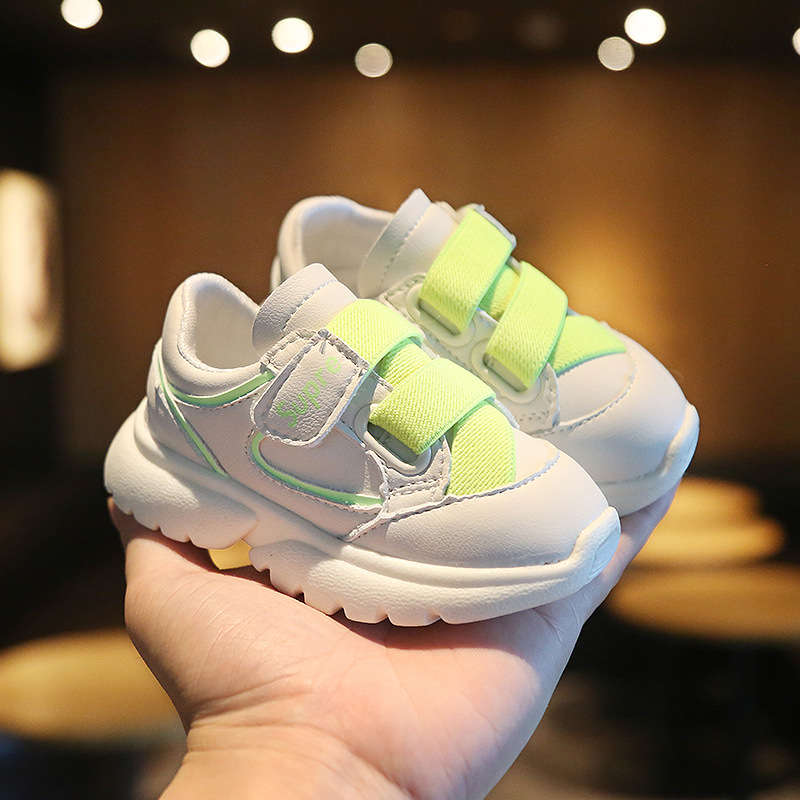 2020 New Baby Sneakers Spring And Autumn Soft Baby Shoes 0-3 Years Old Soft Bottom Toddler Shoes Baby  Infant Shoes Boy