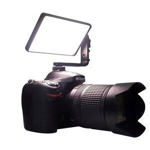 Image 4 - Df YY150 & YY135 Led 12W 2500K 8500K Dimbare Rgb Led Ultra Dunne Videopanel Licht Voor vlogging Video Dslr Youtube Fotostudio