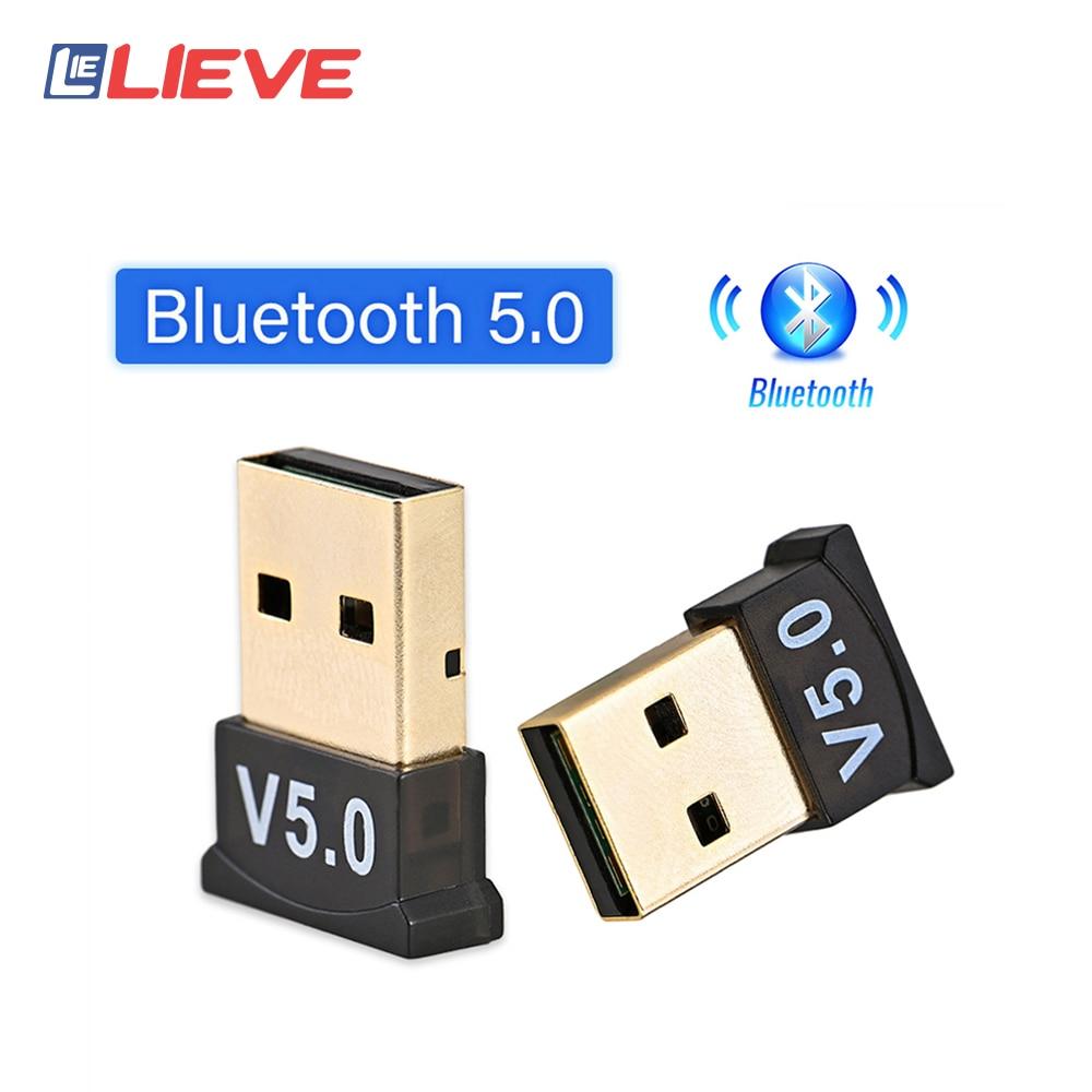 V 5,0 USB Bluetooth 5,0 Adapter Sender Bluetooth Empfänger Audio Bluetooth Dongle Wireless USB Adapter für Computer PC Laptop|Funkadapter|   -