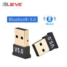 V5 0 USB Bluetooth 5 0 Adapter nadajnik odbiornik Bluetooth Audio wtyczka Bluetooth bezprzewodowy Adapter USB do komputera PC Laptop tanie i dobre opinie lieve CN (pochodzenie) Brak 3Mbps 0-20M Support All Windows XP Vista wireless mouse keyboard pc amplifier USB Bluetooth Receiver Bluetooth Dongle 5 0