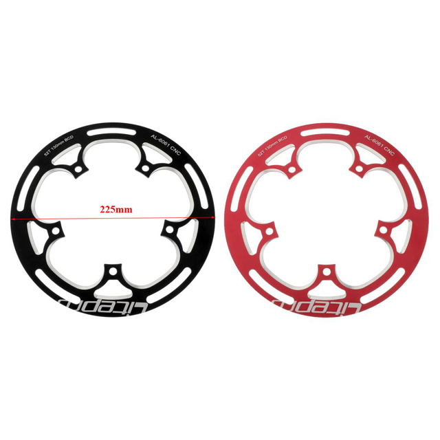 Купить folding bike  chainwheel 52/53t defend chainring protect 130bcd картинки цена
