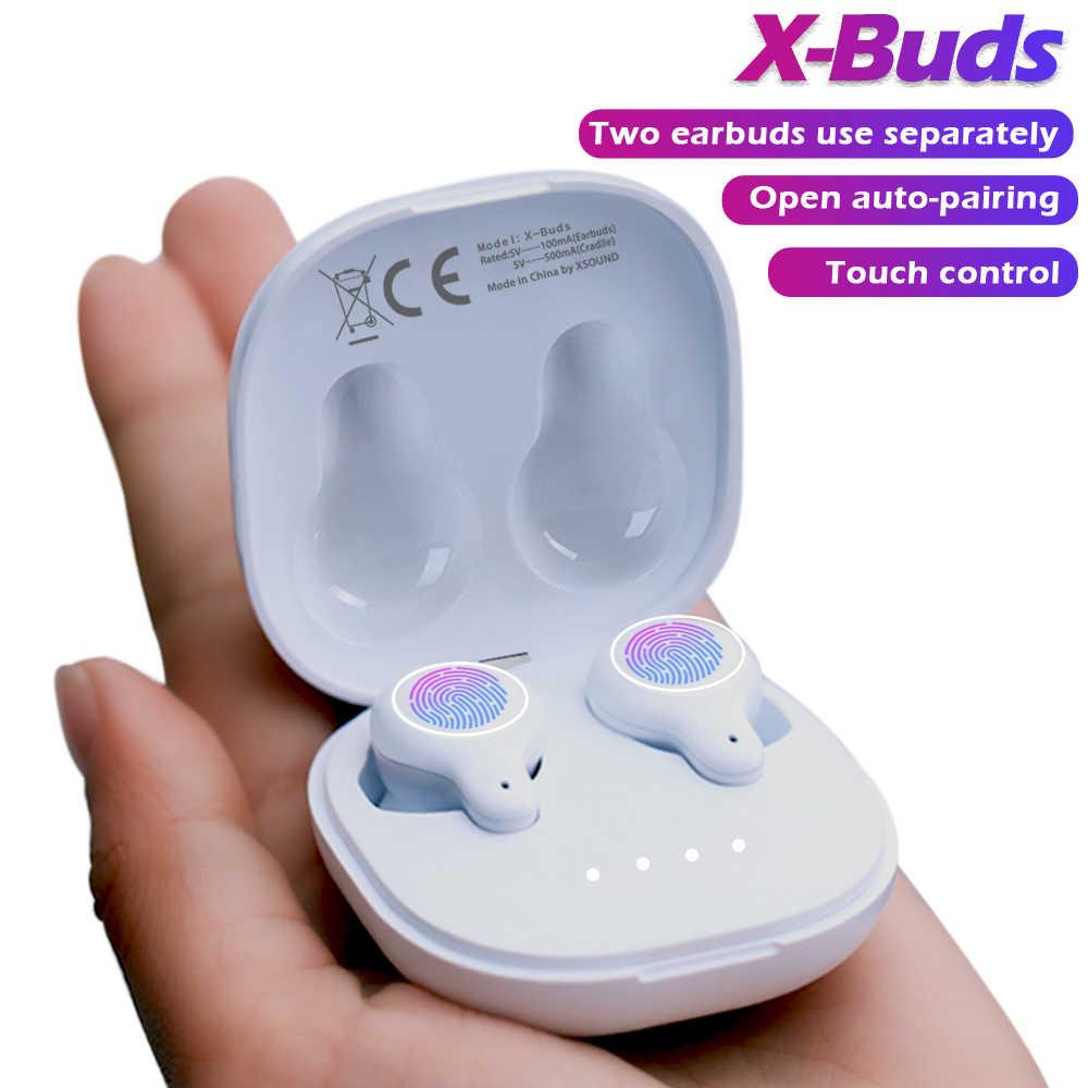 Cigfun x-buds TWS słuchawki Bluetooth Mini bezprzewodowe słuchawki douszne IPX5 wodoodporny sportowy zestaw słuchawkowy stereo z mikrofonem na telefon xiaomi
