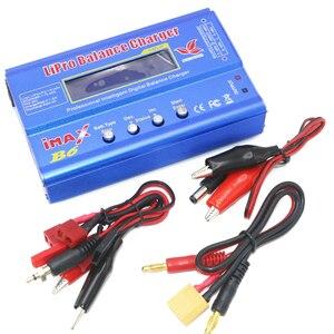 Image 2 - Carregador para bateria de lipo digital, 1 peça, imax b6 80w, plugue t/xt60 plug/tamiya tomada tamiya para quadricóptero rc