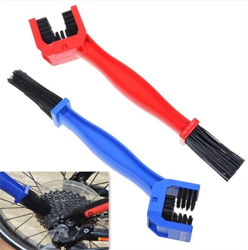 Пластиковая велосипедная щетка мотоциклетная велосипедная щетка для чистки цепи Шестерня Grunge очиститель инструмент для чистки на открыто...