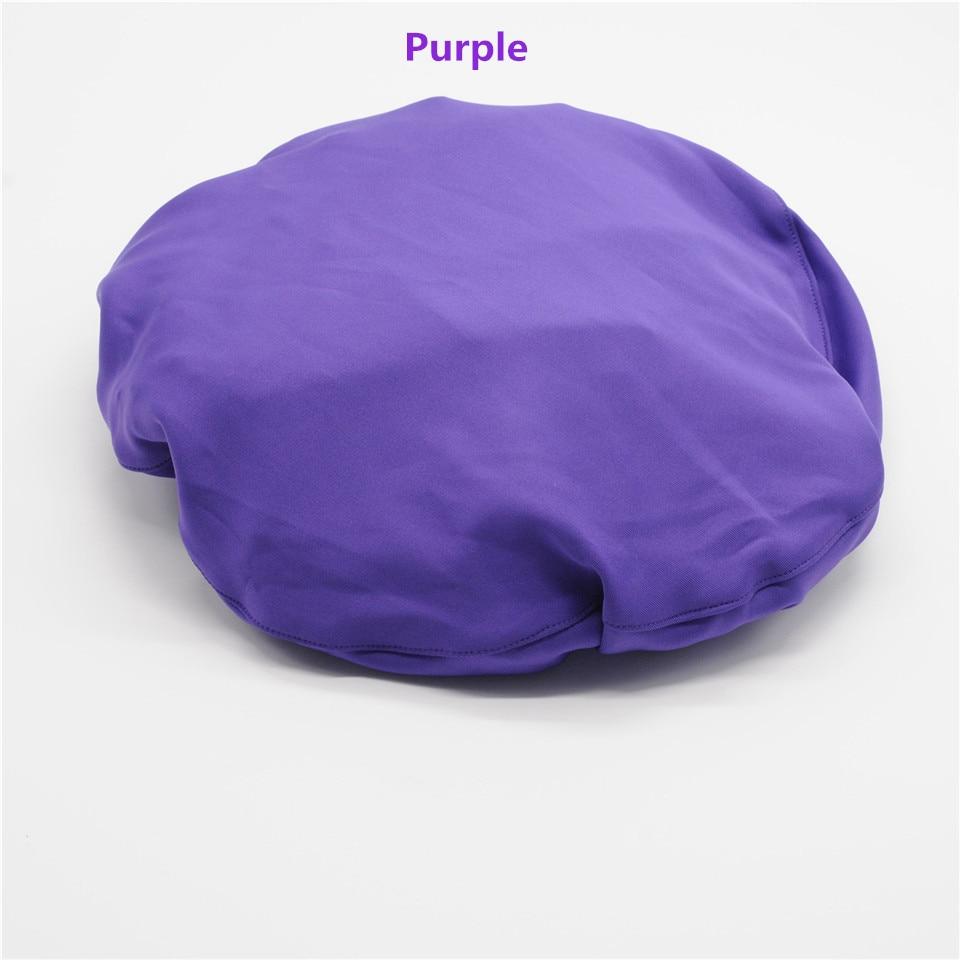Стоматология клиника 4 цвета крышка стула протектор блок Крышка эластичный хлопок моющийся для стоматолога лаборатории - Цвет: 1Set Purple