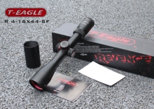 Hunting Scope T-EAGLE R4-16x44SF Riflescope with Red Dot 11mm or 20mm Mount Rifle