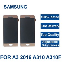 For Samsung Galaxy A3 2016 display A310 SM-A310F/M