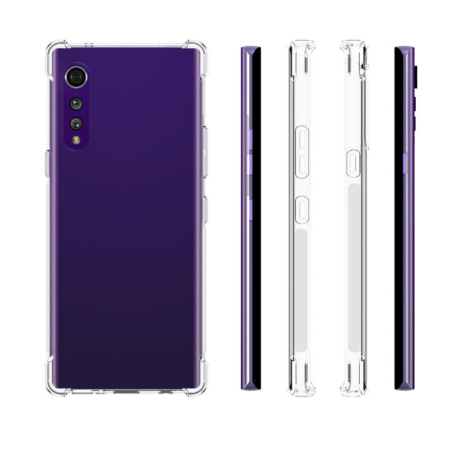 LG velvet transparent case