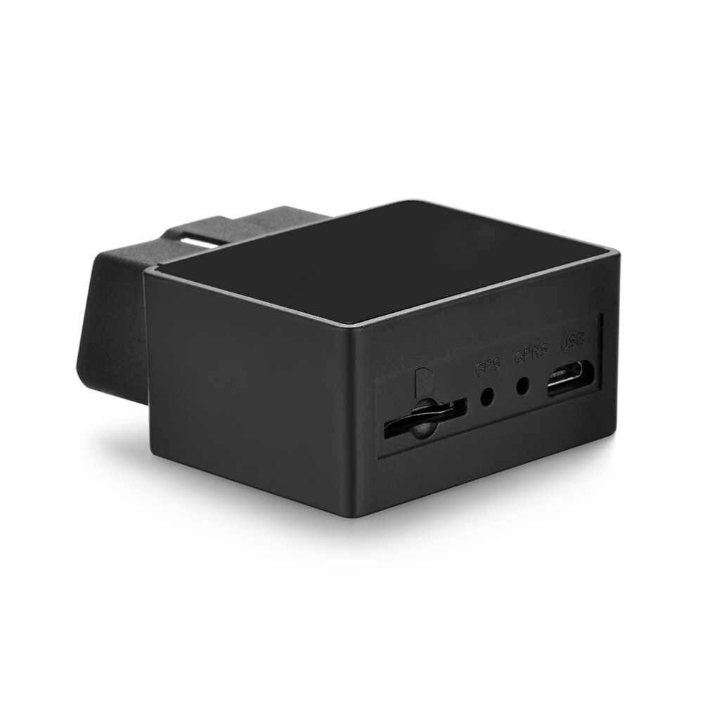 TK-816 OBD устройства слежения GSM GPRS LBS локатор позиционер сигнализации Локатор Бесплатная веб приложение монитор (черный)