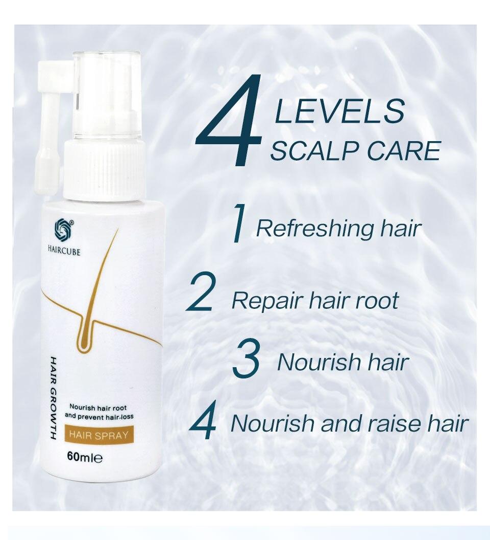 de cabelo para o tratamento rápido do