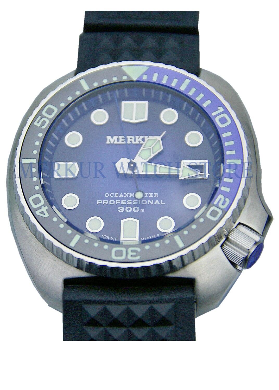 Merkur para hombre Vintage 6105 tortuga automático reloj de pulsera pro buzos zafiro y cerámica 300M CHENXI, relojes de cuarzo para parejas de amantes de la mejor marca, relojes de San Valentín para mujer, relojes de pulsera impermeables para mujer de 30m