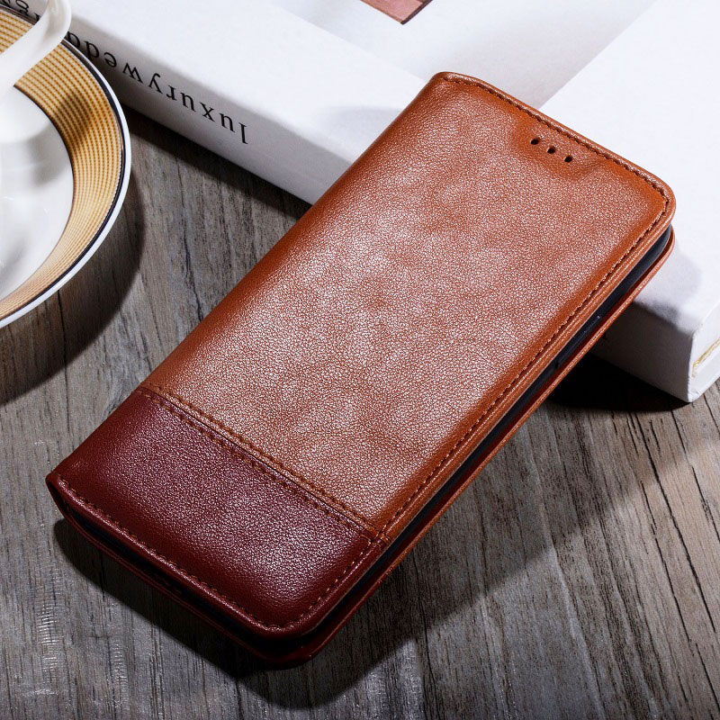 Case for Sony Xperia 1 5 10 ii L1 L2 L3 x xz xz1 xz2 xz3 compact z6 z4 z5 premium xr xa xa1 xa2 coque leather case Flip Cover