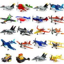 Original disney pixar aviões dusty crophopper el chupacabra skipper ripslinger metal diecast modelo avião brinquedo para crianças