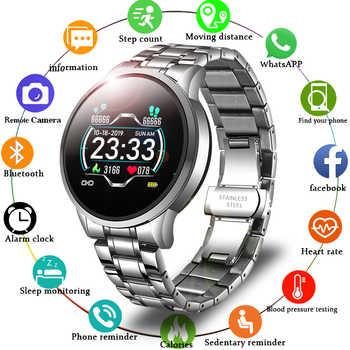 LIGE 2020, nuevo reloj inteligente para hombres, pulso, presión arterial, Recordatorio de información, deporte, reloj inteligente resistente al agua para teléfono Android IOS