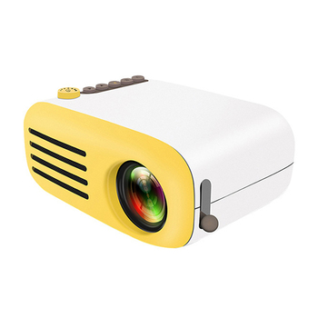 Upgrade YG200 Mini LED Pocket Projector Home Beamer Kids Gift USB HDMI Video Portable 1080P Projector Optional Battery