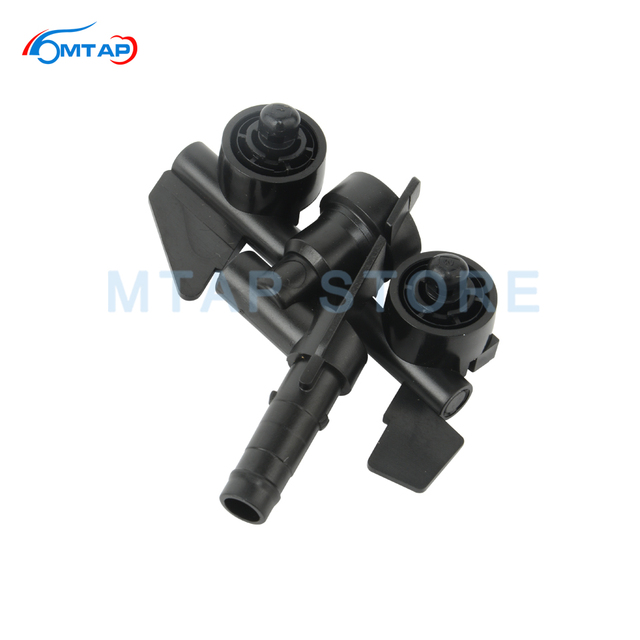 MTAP Headlight Cleaning Water Spray Jet For BMW 3 Series E46 1997 2006 318 320 323 325 328 330 M3 Front Headlamp Washer Nozzle