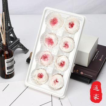 Eternal Domestic Austin Rose Mr Zhang 4-5cm8 Flower Installed Preservation diy hua Box pei cai Wholesale