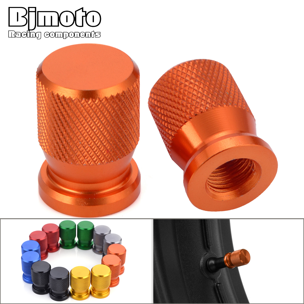 Universal Wheel Tire Valve Stem Cap Cover For Yamaha Kawasaki Z900 KTM 1200 K TT