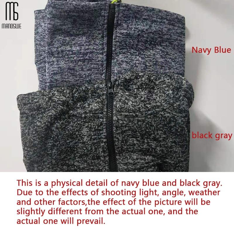 Manoswe Men Sports Casual Wear Zipper COPINE Fashion Tide Jacquard Hoodies Fleece Jacket Fall Sweatshirts Autumn Winter Coat 2