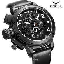 ONOLA big dial Automatic mechanical watch male youth waterpr