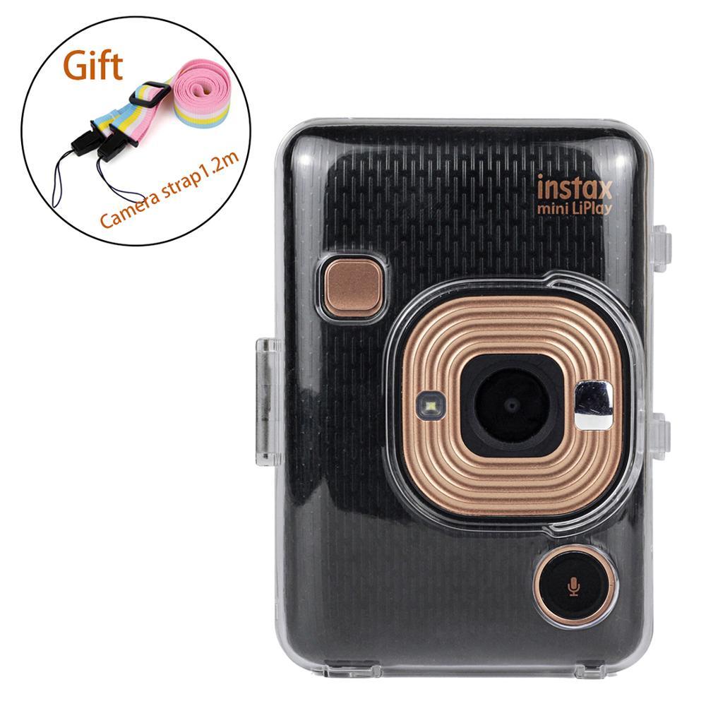 Transparent Protective Cover Pouch Camera bag for Fuji Fujifilm Instax Camera Mini Liplay Instant Accessories