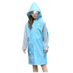Crianças capa de chuva claro chuva casaco de chuva roupas de chuva para o bebê meninas childr