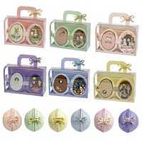 FAI DA TE Casa Delle Bambole Mobili In Miniatura di Legno Casa di Bambola Miniaturas Scatola Theatr Giocattoli per I Bambini Regali di Compleanno Casa di Semi Del Mondo R6